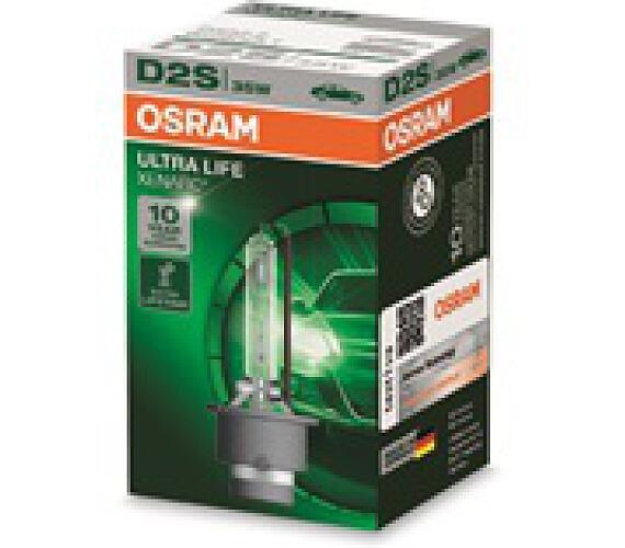 OSRAM xenonová výbojka D2S XENARC ULTRALIFE 12/24V 35W P32d-2 4300K živ. až 300000 km (Krabička 1ks) (66240ULT) + DOPRAVA ZDARMA