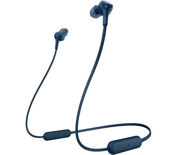 Sony WIXB400L.CE7 Bezdrátová sluchátka do uší s funkcí extra bass- Blue