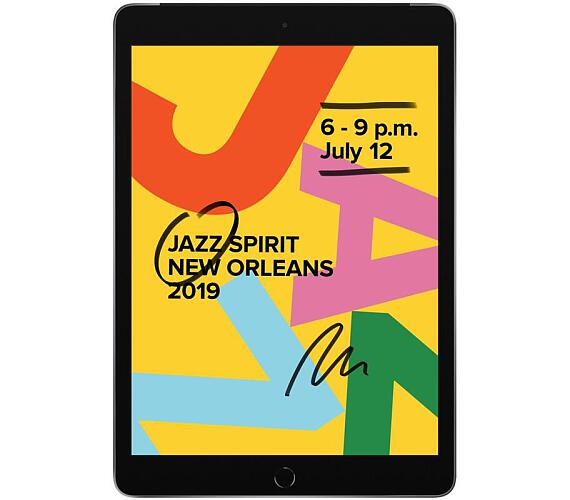 iPad Wi-Fi + Cell 128GB - Space Grey (MW6E2FD/A)