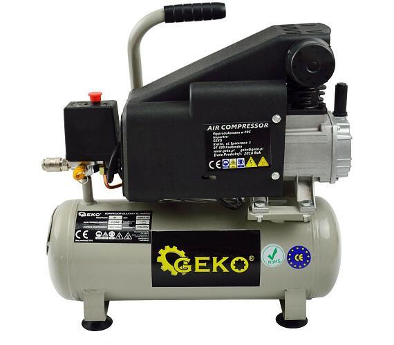 Kompresor olejový 8L GEKO + DOPRAVA ZDARMA