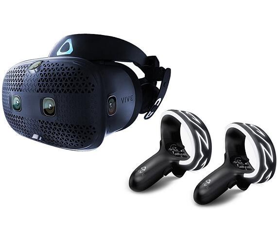 HTC Vive COSMOS Brýle pro virtuální realitu / 6x interní snímací kamera / 2x ovládač / link box / kompletní kabeláž (99HARL002-00)