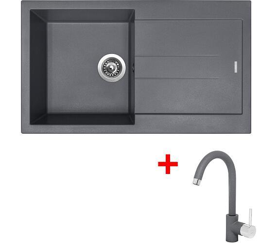 Sinks AMANDA 860 Titanium+MIX 35 GR + DOPRAVA ZDARMA