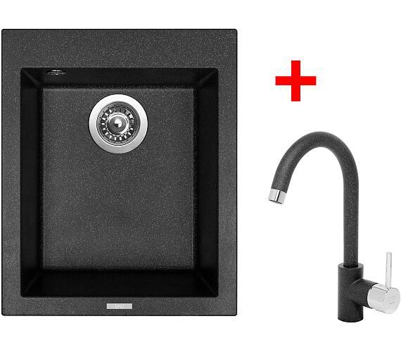 Sinks CUBE 410 Granblack+MIX 35 GR + DOPRAVA ZDARMA