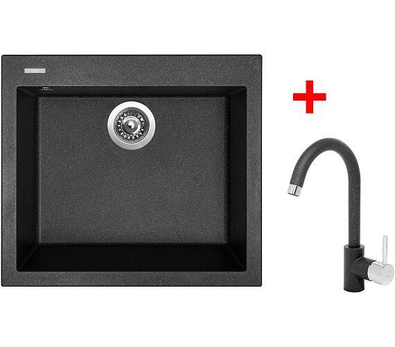 Sinks CUBE 560 Granblack+ MIX 35 GR + DOPRAVA ZDARMA