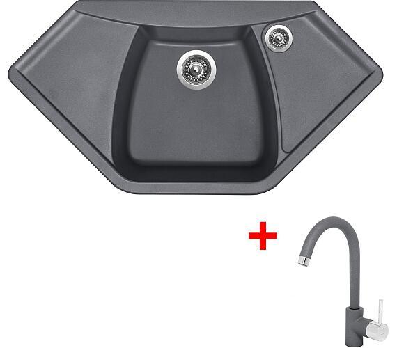Sinks NAIKY 980 Titanium+MIX 35 GR + DOPRAVA ZDARMA
