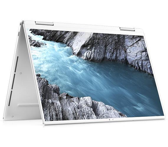 "Dell XPS 13 (7390) 2v1 Touch/ i7-1065G7/ 16GB/ 512GB SSD/ 13.4"" UHD+ dotyk/ FPR/ W10Pro/ bílý/ US kl./ 3Y Basic on-site (7390-69173)"