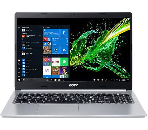 "Acer Aspire 5 (A515-54G-540Q) i5-8265U/8GB/512GB SSD/15.6"" FHD Acer matný IPS LED LCD/GF MX250 /W10 Home/Silver (NX.HFREC.002)"