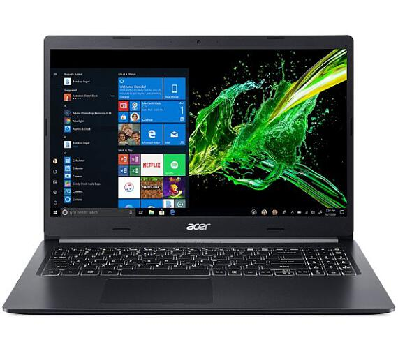 "Acer Aspire 5 (A515-54-31XB) i3-8145U/8GB/256GB+N/15.6"" FHD Acer matný IPS LED LCD/W10 Home/Black (NX.HDJEC.007)"