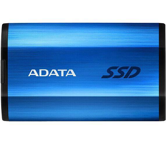 ADATA External SSD 512GB SE800 USB 3.2 Gen2 type C modrá (ASE800-512GU32G2-CBL)