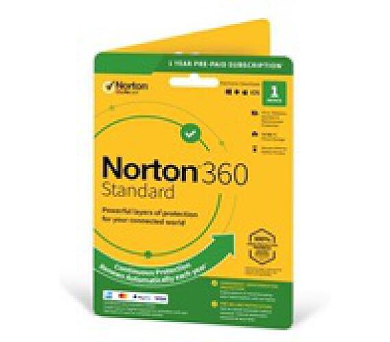 Norton 360 Standard 2019 | 1 Zařízení | PC