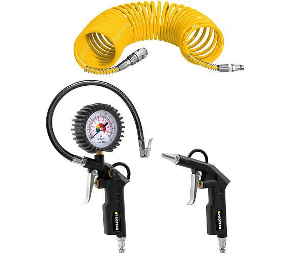 Sada pneumatického nářadí 3-dílná PROTECO