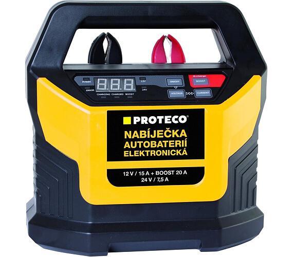 Nabíječka autobaterií 12/24V elektronická PROTECO