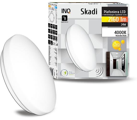 Ostatní Svítidlo LED stropní SKADI Plafoniera s mikrovlnným pohybovým čidlem 24W PLHF05NW