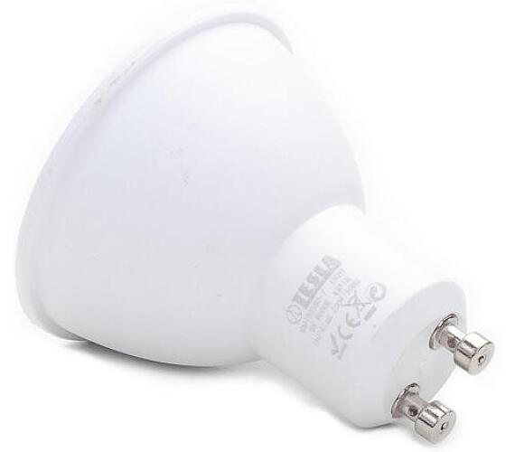 TESLA LED žárovka/ GU10/ 5W/ 230V/ 410lm/ 6000K/ studená bílá (GU100560-7)