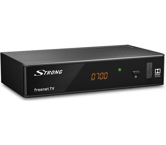 SRT 8541 HD DVB-T2 HEVC PŘIJÍMAČ Strong