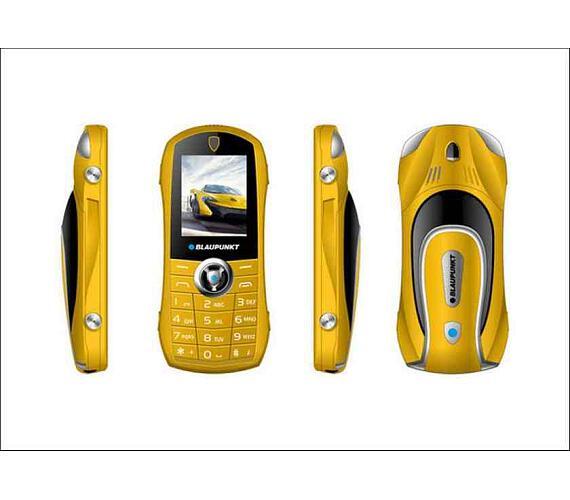 Blaupunkt Car - yellow