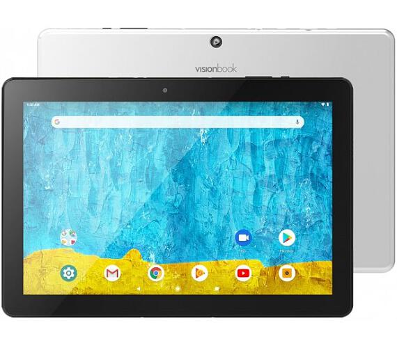 "UMAX tablet PC VisionBook 10Q Pro/ 10,1"" IPS/ 1280x800/ 2GB/ 32GB Flash/ micro HDMI/ micro USB/ Android 9 Pie/ stříbrný (UMM2401QM)"