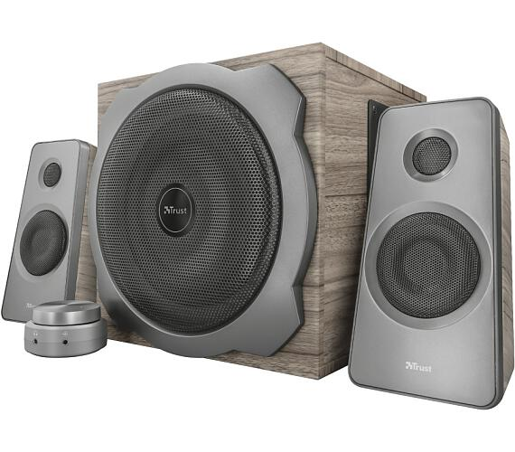TRUST TYTAN 2.1 SPEAKER GREY/WOOD (23290)