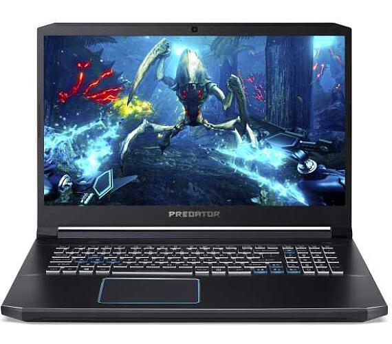 "Acer Predator Helios 300 (PH317-53-7398) Core i7-9750H/8GB+8GB/1TB SSD+N/17.3"" FHD IPS 144Hz LCD/GF 2060/W10 Home/Black (NH.Q5QEC.003 + DOPRAVA ZDARMA"