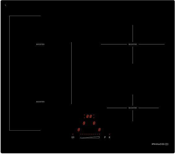 Philco PHD 61 FS + Český ovládací panel! + 36 měsíců bezplatný servis + DOPRAVA ZDARMA