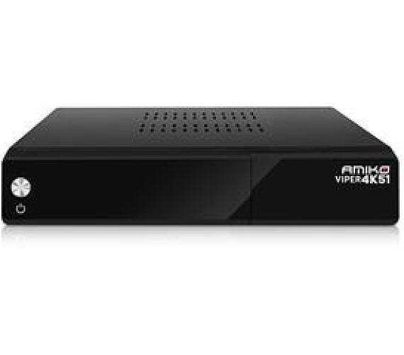 AMIKO DVB-S2 přijímač VIPER 4K + DOPRAVA ZDARMA