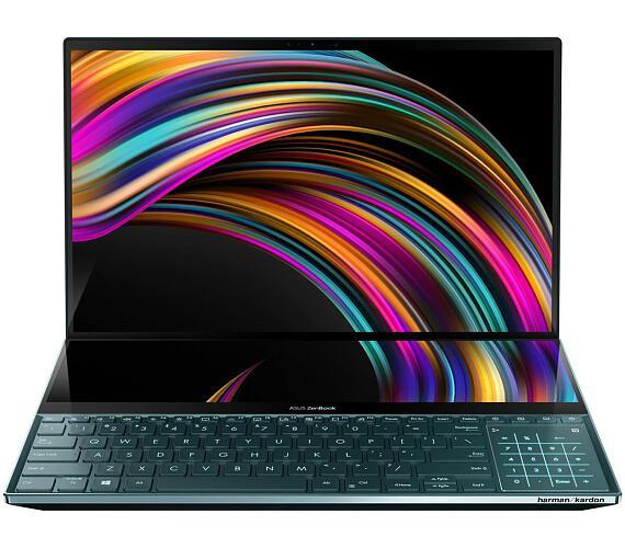 """Asus Zenbook UX581GV - 15,6""""/i7-9750H/16G/1TB SSD/RTX2060/W10 Pro (Blue) + 2 roky NBD ON-SITE (UX581GV-H2002R) + DOPRAVA ZDARMA"""