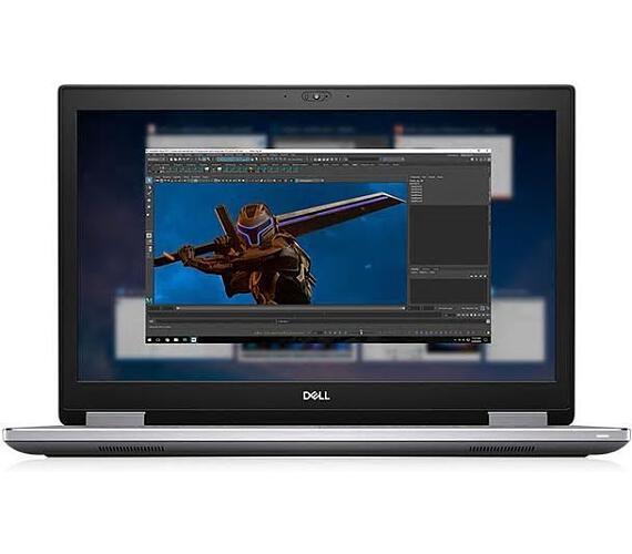 """DELL Precision 7740/Core i7-9850H/32GB/512GB SSD/RTX 3000 6GB/17,3"""" FHD/Win 10 Pro 64bit/Black (7740-32-512) + DOPRAVA ZDARMA"""