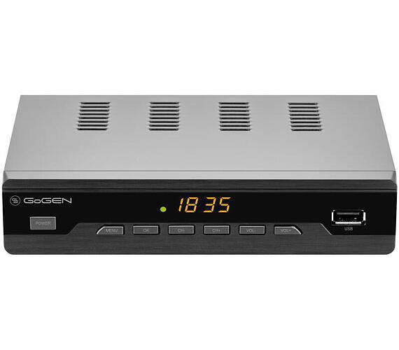 GoGEN DVB 272 T2 PVR + DVB-T2 OVĚŘENO