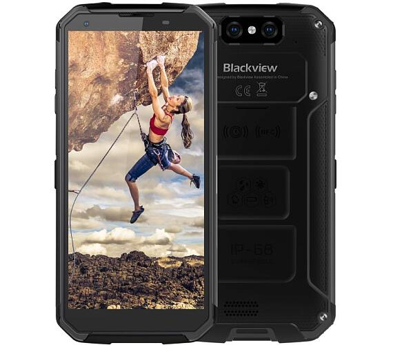 iGET Blackview GBV9500 Plus Black odolný telefon