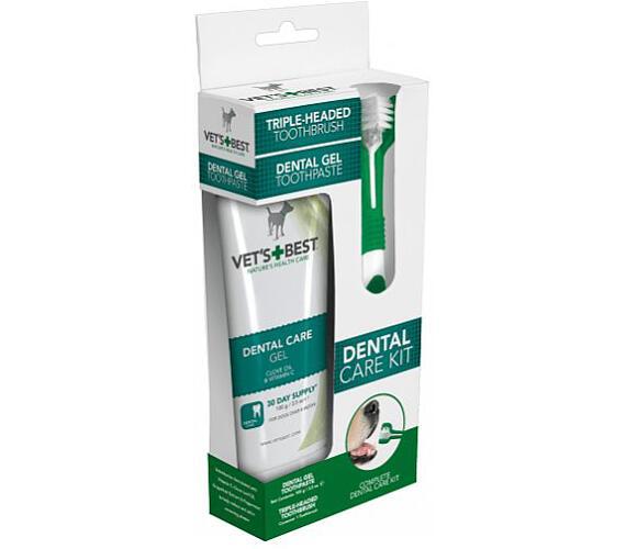 VET´S BEST Sada na čištění zubů pro psy