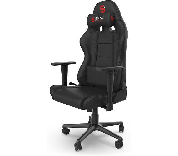 SPC Gear SR300F V2 BK herní židle černá - textilní (SPG037)