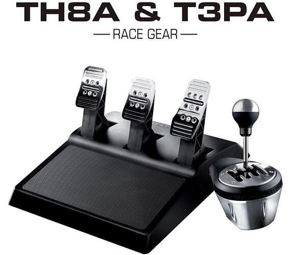Thrustmaster sada TH8A & T3PA Race Gear (4060129) + DOPRAVA ZDARMA