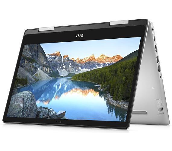 """DELL Inspiron 14 5000 2v1 (5491) Touch / i5-10210U/ 8GB/ 256GB SSD/ 14"""" FHD/ W10Pro/ stříbrný/ 3Y Basic on-site (5491-68718)"""