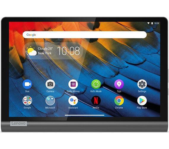 """Lenovo YOGA SMART TAB Snapdragon 439 2.0GHz/4GB/64GB/10,1"""" FHD/320nitů/Smart Assistants/Android 9 ZA"""