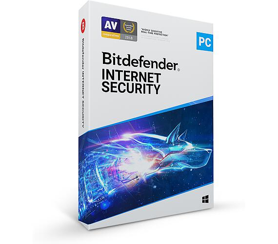 Bitdefender Internet Security 2020 1 zařízení na 3 roky (IS01ZZCSN3601LEN)