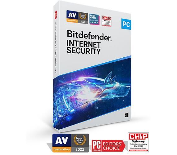 Bitdefender Internet Security 2020 3 zařízení na 1 rok (IS01ZZCSN1203LEN)