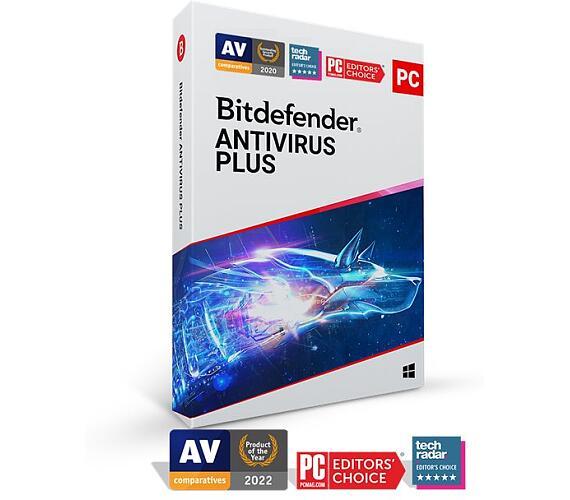 Bitdefender Antivirus Plus 2020 5 zařízení na 1 rok (AV01ZZCSN1205LEN)