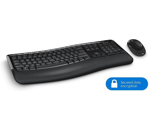 Microsoft Wireless Comfort Desktop 5050 with AES