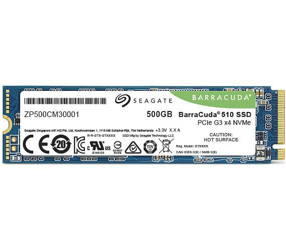 Seagate BarraCuda 510 NVMe M.2 PCIe (ZP500CM3A001)
