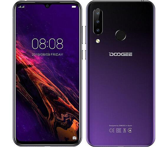 Doogee Y9 plus DualSIM LTE gsm tel. 4+64GB Purple + DOPRAVA ZDARMA