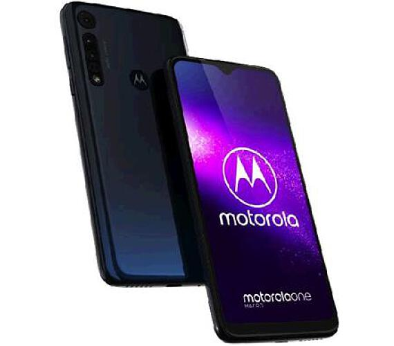 Motorola One Macro 4+64GB DS gsm tel. Deep Space + DOPRAVA ZDARMA