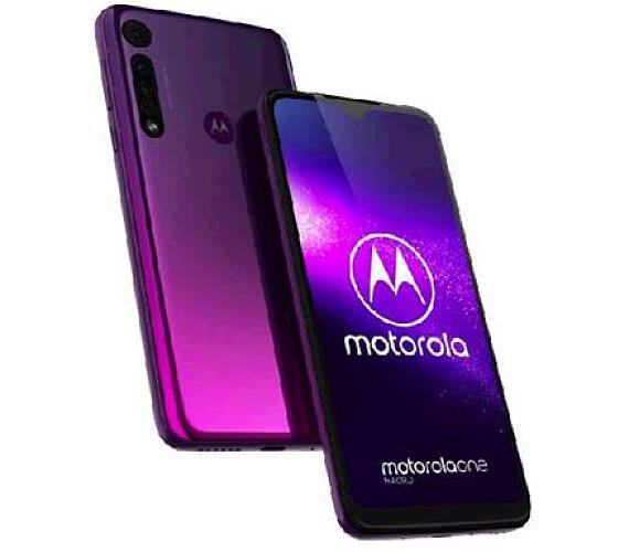 Motorola One Macro 4+64GB DS gsm tel. Ultraviolet + DOPRAVA ZDARMA