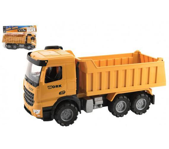 Auto nákladní plast na volný chod 38cm v sáčku