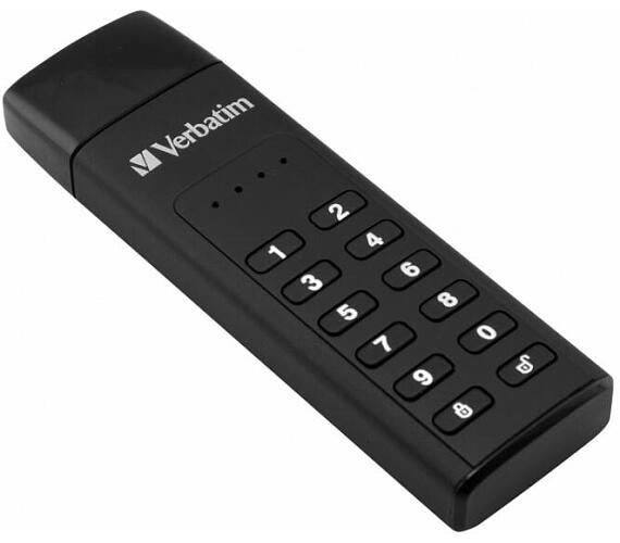 Verbatim USB 3.0 Drive 128 GB - Keypad Secure (R:160/W:150 MB/s) GDPR (49429) + DOPRAVA ZDARMA