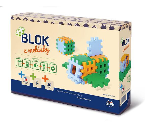 Seva Blok z melásky 36ks 12m+