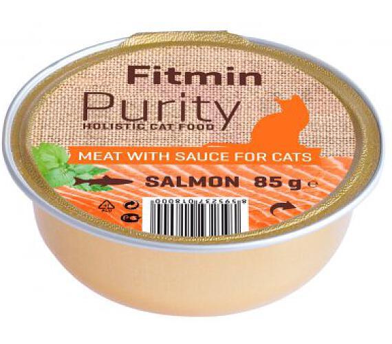 FITMIN cat Purity alutray Salmon - 85 g XY