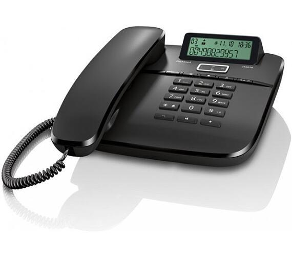 SIEMENS GIGASET DA611 - standardní telefon s displejem