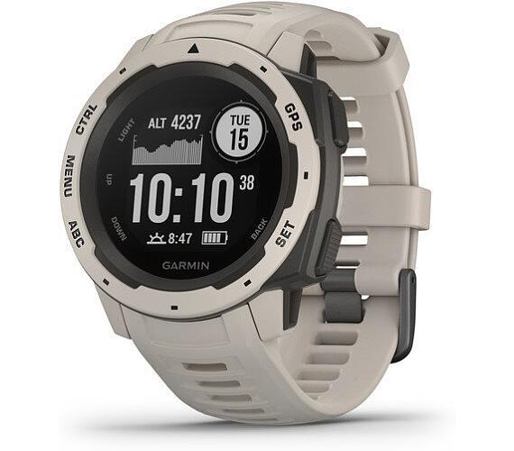 Garmin Instinct Gray Optic-Odolné outdoorové a multisportovní GPS hodinky (010-02064-01)