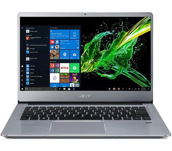 "Acer Swift 3 (SF314-41-R15C) AMD Ryzen 5 3500U/4GB+4GB/512GB SSD+N/Vega 8 Graphics/14"" FHD IPS LED matný/BT/W10 Home/Silver (NX.HFDEC.005) + DOPRAVA ZDARMA"