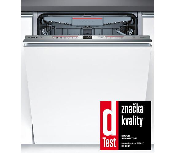 Bosch SMV67MX01E vestavná + * Záruka 10 let proti prorezavění + DOPRAVA ZDARMA